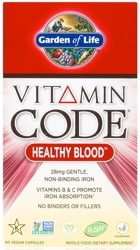Vitamin Code Healthy Blood Page