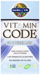 Vitamin Code Mens 50 and Wiser Page