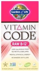 Garden Of Life Vitamin Code Raw B-12  30 Capsules