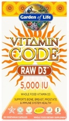 Vitamin Code Raw D3 Page