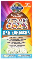 Garden of Life Vitamin Code Raw Kombucha  60 Capsules