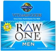 Vitamin Code Raw One for Men Page