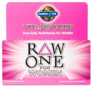Vitamin Code Raw One for Women Page