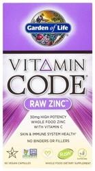 Vitamin Code Raw Zinc Page