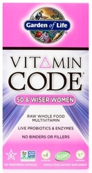 Vitamin Code Womens 50 and Wiser Page