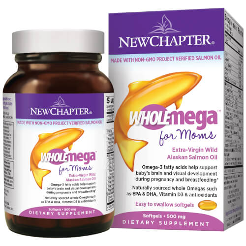 New Chapter WholeMega Prenatal  90 Softgels