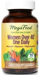 MegaFood Women Over 40 One Daily  60 Tablets
