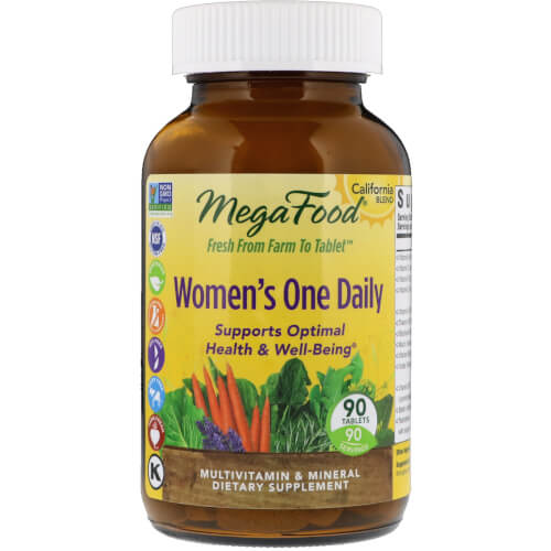 MegaFood Womens One Daily  60 Tablets