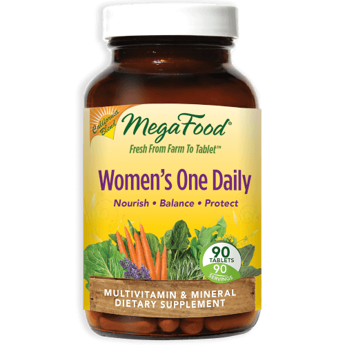 MegaFood Womens One Daily  90 Tablets