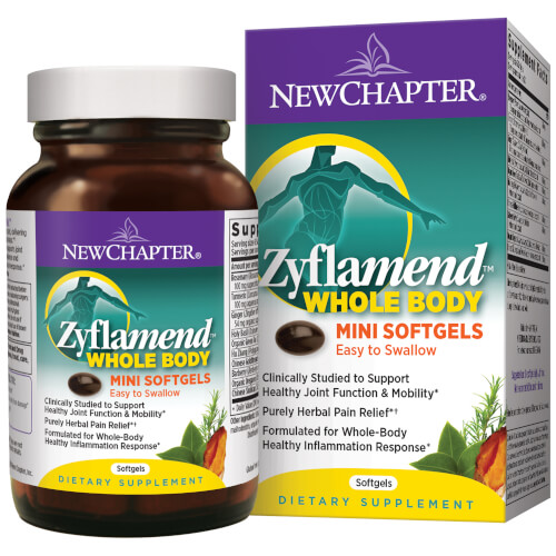 New Chapter Zyflamend Mini   180 6-a-Day Softgels