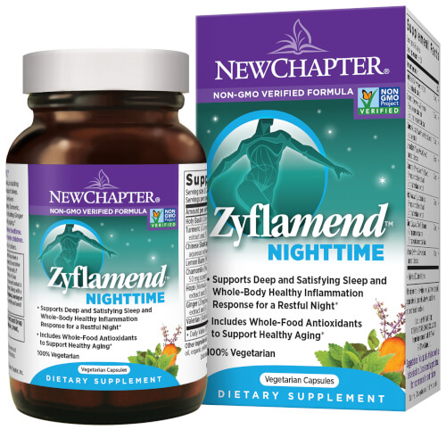 New Chapter Zyflamend Nighttime  60 Liquid VCaps