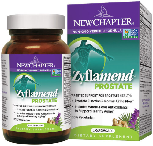 New Chapter Zyflamend Prostate  60 Liquid VCaps