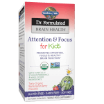 Dr Formulated Brain Health Memory and Focus for Kids Product Page