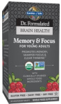 Dr Formulated Brain Health Memory and Focus for Young Adults Product Page