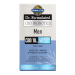 Dr Formulated CBD Probiotics Men