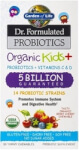 Dr Formulated Probiotics Organic Kids Plus 5 Billion