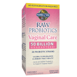 RAW Probiotics Vaginal Care Product Page