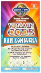 Vitamin Code Raw Kombucha Product Page