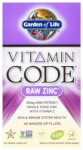 Vitamin Code Raw Zinc Product Page
